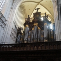 Antwerpen, kathedraal. Pierre Schyven, 1891. Restauratie Schumacher, 2018.