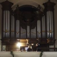 Destelbergen, OLV-kerk. Lotte Rhode en Frank Heye.