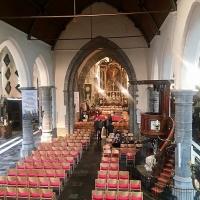 De Sint-Martinuskerk te Ekkergem