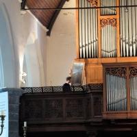 Het orgel van de Sint-Martinuskerk te Ekkergem