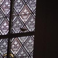 Destelbergen, OLV-kerk. Parus major, Koolmees.