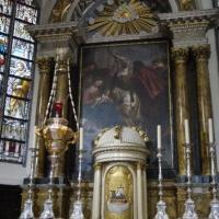 Kalken, Sint-Dionysiuskerk. Een kopie naar PP Rubens' Aanbidding der Drie Koningen.