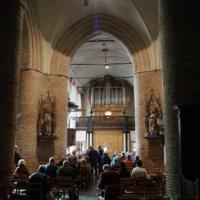 Maldegem, Sinte-Barbarakerk. Louis-Benoit Hooghuys 1865-Thomas 2006.